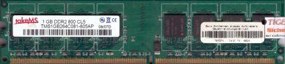takeMS TMS1GB264C081-805AP PC2-6400 1GB DDR2 800MHz CL5 Arbeitsspeicher RAM*r559