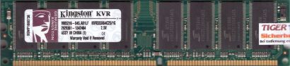 Kingston KVR333X64C25 1G PC-2700 1GB DDR1 333MHz 9905216-045 A01LF RAM* r569