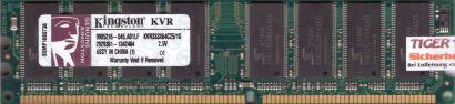 Kingston KVR333X64C25 1G PC-2700 1GB DDR1 333MHz 9905216-045 A01LF RAM* r569
