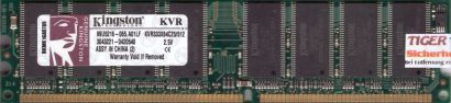 Kingston KVR333X64C25 512 PC-2700 512MB DDR1 333MHz 99U5216-065 A01LF RAM* r573