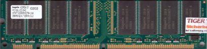 Hynix HYM71V32635HCT8-K AA PC133 256MB SDRAM 133MHz Arbeitsspeicher SD RAM* r575