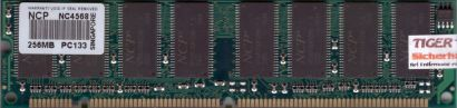 NCP NC4568 PC133 256MB SDRAM 133MHz Arbeitsspeicher SD RAM* r576