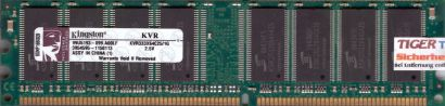 Kingston KVR333X64C25 1G PC-2700 1GB DDR1 333MHz 99U5193-099 A00LF RAM* r578