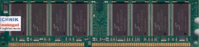 Kingston KVR333X64C25 1G PC-2700 1GB DDR1 333MHz 99U5193-099 A00LF RAM* r578