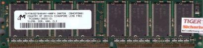 Micron MT8VDDT6464AY-40BF4 PC-3200 512MB DDR1 400MHz Arbeitsspeicher RAM* r580