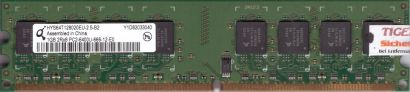 Qimonda HYS64T128020EU-2.5-B2 PC2-6400 1GB DDR2 800MHz Arbeitsspeicher RAM* r581