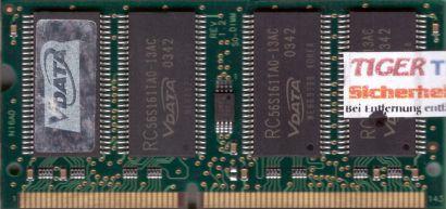 VDATA MSGVD3E4G3X2B1AZK PC133 256MB SDRAM 133MHz SODIMM SD Arbeitsspeicher* lr13