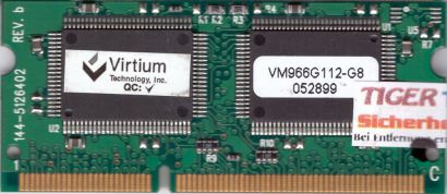Virtium VM966G112-G8 144-5126402 Rev b VRAM SGRAM 4MB 144 pin für Apple G3* lr19