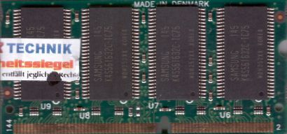 Toshiba PA3086U-1M25 PC133 256MB SDRAM 133MHz SODIMM SD Arbeitsspeicher* lr25
