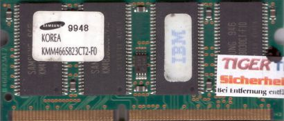 Samsung KMM466S823CT2-F0 PC66 64MB SDRAM 66MHz SODIMM SD Arbeitsspeicher* lr26