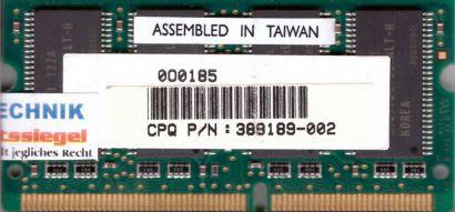 Hynix HYM71V16M635ALT6-H AA PC133 128MB SDRAM 133MHz SODIMM SD RAM* lr43