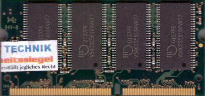 Siemens NTB3264133G07MV-TW-A1C08D PC133 256MB SDRAM 133MHz SODIMM SD RAM* lr49