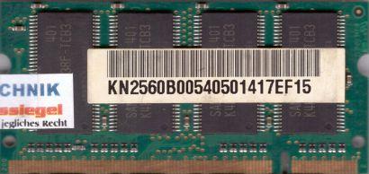 Samsung M470L3224FT0-CB3 PC-2700 256MB DDR1 333MHz SODIMM Arbeitsspeicher* lr54