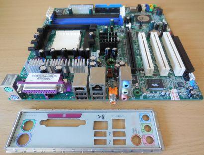 MSI MS-7093 Ver1.0 HP 5187-8699 Mainboard +Blende AMD Sockel 939 PCIe DDR* m832