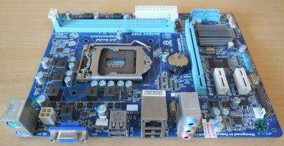Gigabyte GA-H61M-DS2 Rev1.2 Mainboard Intel H61 Sockel 1155 DDR3 PCIe SATA* m836