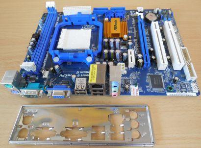 ASRock N68-S3 UCC Rev1.02 Mainboard +Zubehör Sockel AM3 PCIe VGA LAN Audio* m837
