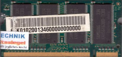 Samsung M470L3224DT0-CB0 PC-2100 256MB DDR1 266MHz SODIMM Arbeitsspeicher* lr60