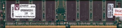 Kingston KVR266X64C2 512 PC-2100 512MB DDR1 266MHz 9905216-073 A00LF RAM* r583