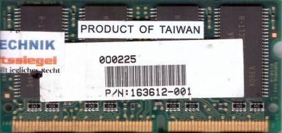 Hynix HYM71V16M635HCLT6-H AA PC133 128MB SDRAM 133MHz SODIMM SD RAM* lr68