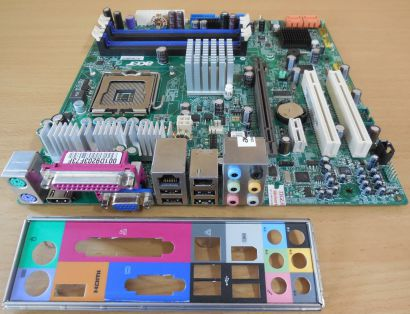 Acer Aspire T671 MS-7326 Mainboard+Blende Sockel 775 PCIe HDMI DDR2 VGA Aud*m842