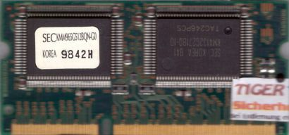 Samsung SEC KMM965G512BQN-G0 VRAM 4MB Video RAM 144 pin für Apple iMac 233* lr89