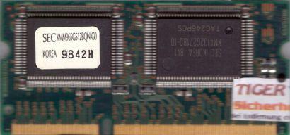 Samsung SEC KMM965G512BQN-G0 VRAM 4MB Video RAM 144 pin für Apple iMac 233* lr89