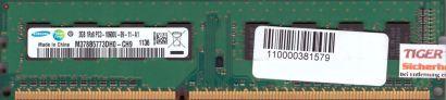 Samsung M378B5773DH0-CH9 PC3-10600 2GB DDR3 1333MHz Arbeitsspeicher RAM* r584