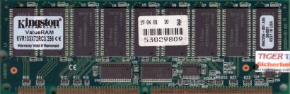 Kingston KVR133X72RC3 256 PC133 256MB 133MHz ECC Reg SD RAM 9962254-001 A00*r589