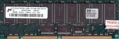 Micron MT18LSDT3272G-133B1 PC133 256MB 133MHz ECC Reg SD RAM HP D8266A* r591
