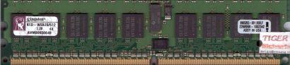 Kingston KTD-WS670 512 PC2-3200R 512MB DDR2 400MHz ECC Reg 9965263-001B00LF*r595
