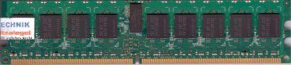 Samsung M393T2950CZ3-CCC PC2-3200R 1GB DDR2 400MHz Server ECC Reg RAM* r596