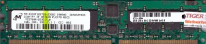 Micron MT18VDDF12872G-335D3 PC-2700R 1GB DDR1 333MHz Server ECC Reg RAM* r598