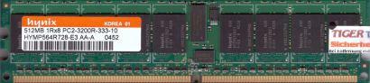 Hynix HYMP564R728-E3 AA-A PC2-3200R 512MB DDR2 400MHz Server ECC Reg RAM* r599