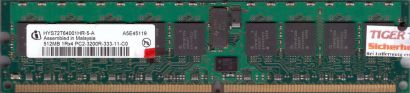 Infineon HYS72T64001HR-5-A PC2-3200R 512MB DDR2 400MHz Server ECC Reg RAM* r600