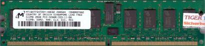 Micron MT18HTF6472DY-40EB2 PC2-3200R 512MB DDR2 400MHz Server ECC Reg RAM* r603