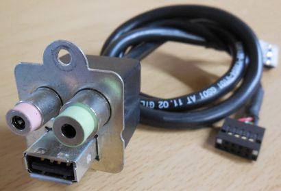 FSC Fujitsu Audio Front Connect USB mit Kabel  T26139-Y3894-V101* pz459
