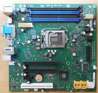 Fujitsu D3062-A13 GS2 Mainboard +Blende Intel Q67 Sockel 1155 Esprimo E900* m850