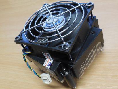 HP 410515 001 Intel Sockel 775 80mm 4-pol Alu+Ku Compaq DX2200 CPU Lüfter* ck307