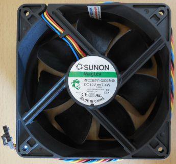 SUNON Maglev MFC0381V1-Q000-M99 DELL PN YK550-A00 12V 7.4W 5-pol CPU Lüfter*GL92