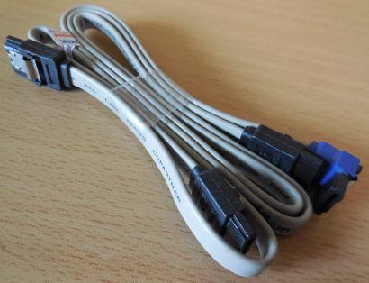 Fujitsu 2x SATA Kabel Set  für Fujitsu Esprimo PCs HDD SSD CD DVD Blueray* pz466