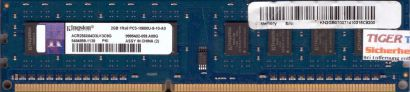 Kingston ACR256X64D3U13C9G PC3-10600 2GB DDR3 1333MHz 9995402-059 A00G RAM* r611