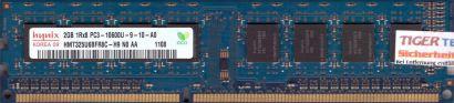 Hynix HMT325U6BFR8C-H9 N0 AA PC3-10600 2GB DDR3 1333MHz Arbeitsspeicher RAM*r612