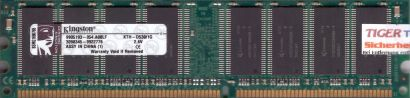Kingston KTH-D530 1G PC-3200 1GB DDR1 400MHz 9905193-054 A00LF RAM* r613