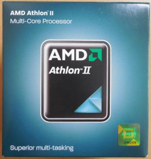 CPU AMD Athlon II X2 245e AD245EHDK23GM Dual Core 2x2.9GHz Sockel AM3 AM2+* c558