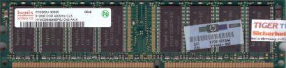 Hynix HYMD564646BP8J-D43 AA-A PC-3200 512MB DDR1 400MHz HP 326668-885 RAM* r616