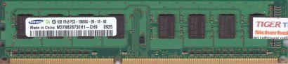 Samsung M378B2873EH1-CH9 PC3-10600 1GB DDR3 1333MHz Arbeitsspeicher RAM* r619