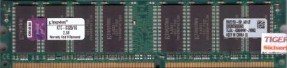 Kingston KTC-D320 1G PC-2700 1GB DDR1 333MHz 99U5193-091 A01LF RAM* r621