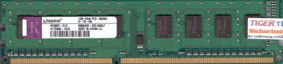 Kingston KF680F-ELD PC3-8500 1GB DDR3 1066MHz 9995402-022 A00LF RAM* r622