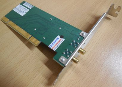 TP-LINK TL-WN851ND 300Mbps Wireless N PCI Adapter Karte 2052500341* wk07