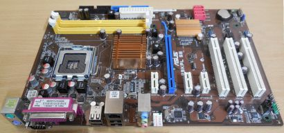 Asus P5KPL SE Rev 2.01G Mainboard Sockel 775 Intel G31 DDR2 PCIe SATA Audio*m863